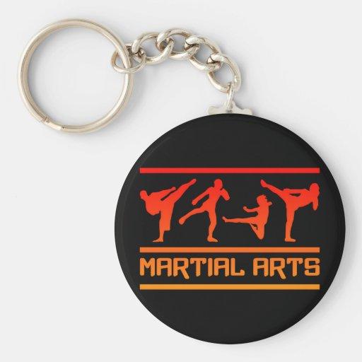 Llavero de los artes marciales