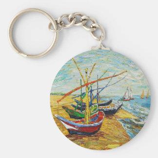 Llavero de los barcos de pesca de Van Gogh