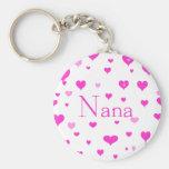 Llavero de los corazones de Nana