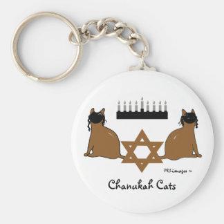 Llavero de los gatos de Chanukah