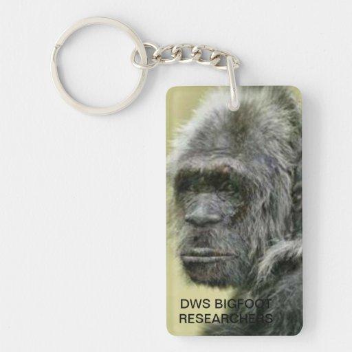 llavero de los investigadores de Bigfoot de los dw