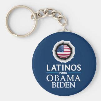 Llavero de los LATINOS de Obama Biden