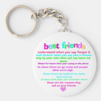 llavero de los mejores amigos
