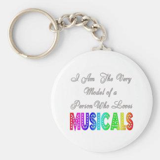 Llavero de los Musicals de los amores
