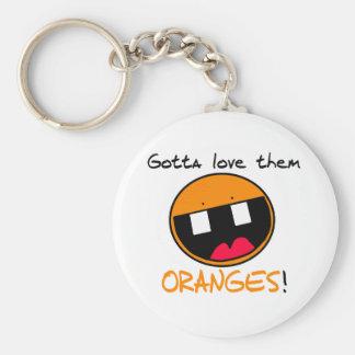 Llavero de los naranjas