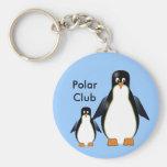 Llavero de los pingüinos del dibujo animado