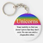 Llavero de los unicornios