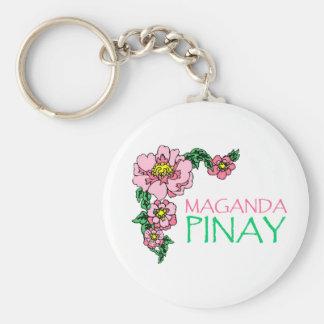 """Llavero de """"Maganda Pinay"""""""