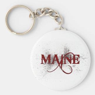 Llavero de Maine del Grunge de la sangría