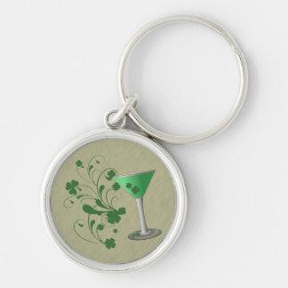 Llavero de Martini del día de St Patrick