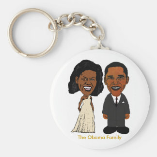 Llavero de Michelle y de Barack Obama