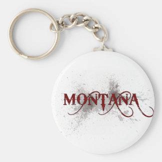 Llavero de Montana del Grunge de la sangría