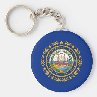 Llavero de New Hampshire