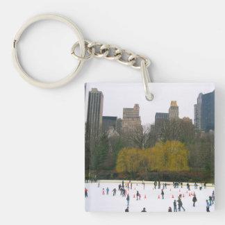 Llavero de New York City de la pista de patinaje
