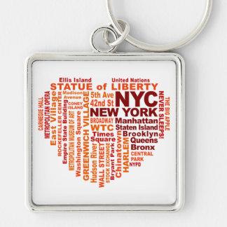 Llavero de NYC