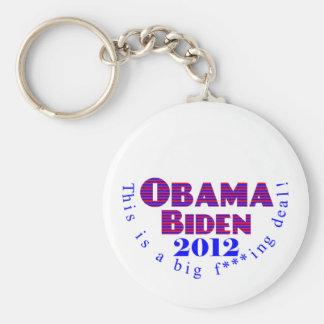 Llavero de Obama Biden 2012 BFD