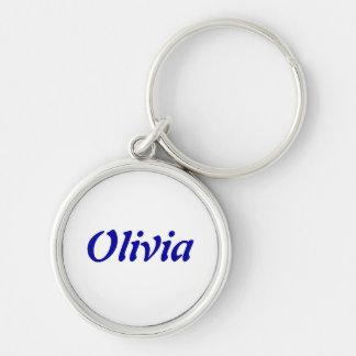 Llavero de Olivia