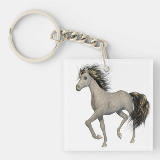 Llavero de oro del unicornio