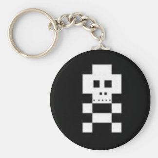 Llavero de Pixelz del cráneo