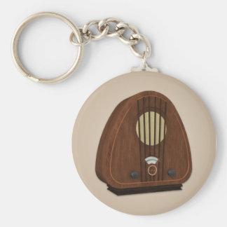 Llavero de radio antiguo del vintage