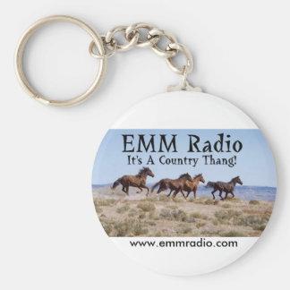 Llavero de radio de EMM
