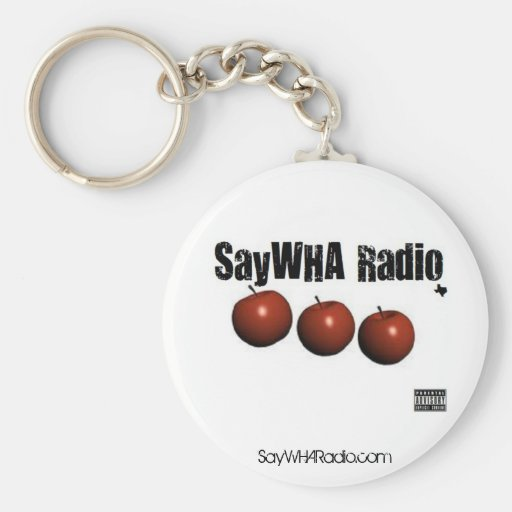 Llavero de radio de SayWHA