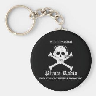 Llavero de radio del pirata