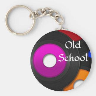 Llavero de registro de la escuela vieja de la músi