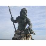 Llavero de rey Neptuno Escultura Fotográfica