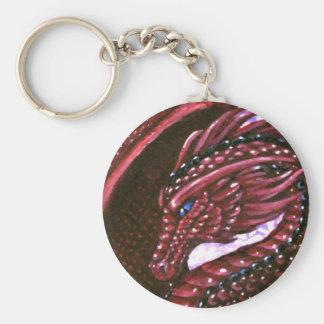 Llavero de rubíes del dragón