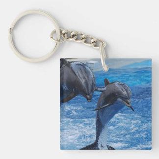 Llavero de salto del delfín