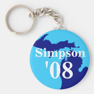 Llavero de Simpson '08