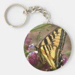 Llavero de Swallowtail del tigre