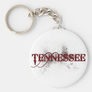 Llavero de Tennessee del Grunge de la sangría