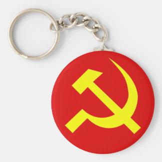 Llavero de URSS del martillo y de la hoz