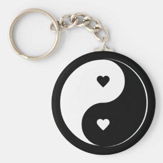 Llavero de Yin Yang del amor