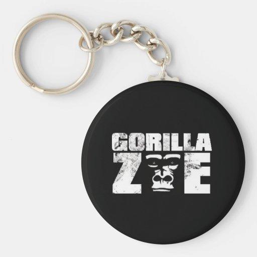 Llavero de Zoe del gorila - logotipo