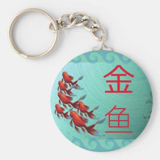 Llavero del 金鱼 de Jinyu del Goldfish