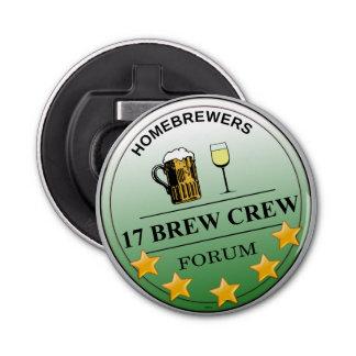 Llavero del abrebotellas del equipo del Brew de la Abrebotellas Redondo