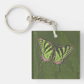 Llavero del acrílico de Swallowtail del Celtic