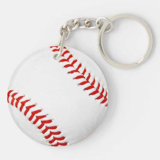Llavero del acrílico del béisbol