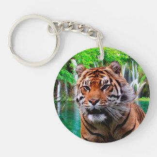 Llavero del acrílico del tigre