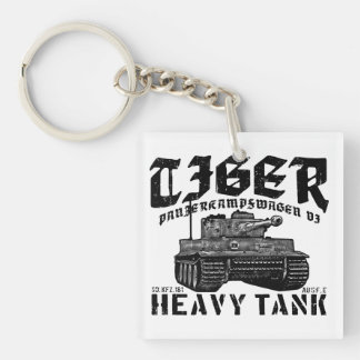 Llavero del acrílico del tigre I