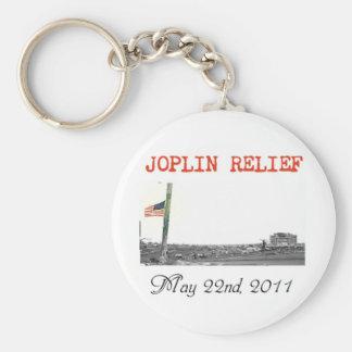 Llavero del alivio de Joplin