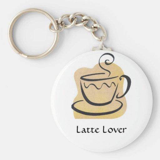 Llavero del amante de Latte