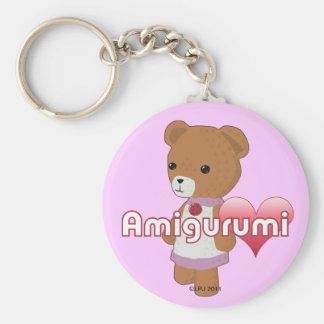 Llavero del amor de Amigurumi