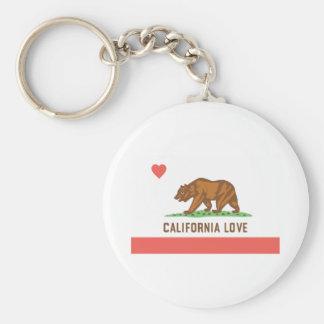 Llavero del amor de California