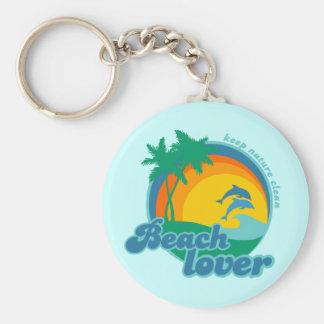 Llavero del amor de la playa
