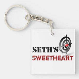 Llavero del amor de Seth