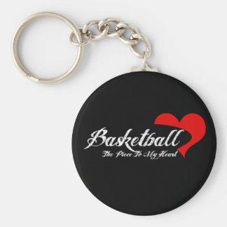 Llavero del amor del baloncesto